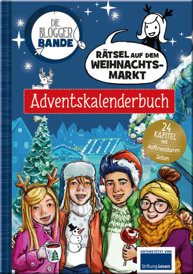 Cover Adventskalenderbuch der Bloggerbande