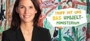Rita Schwarzelühr-Sutter vom BMU kommt nach Hamburg und gratuliert Abenteuer Regenwald
