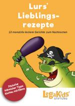 Cover Lurs' Lieblingsrezepte, LegaKids Stiftung