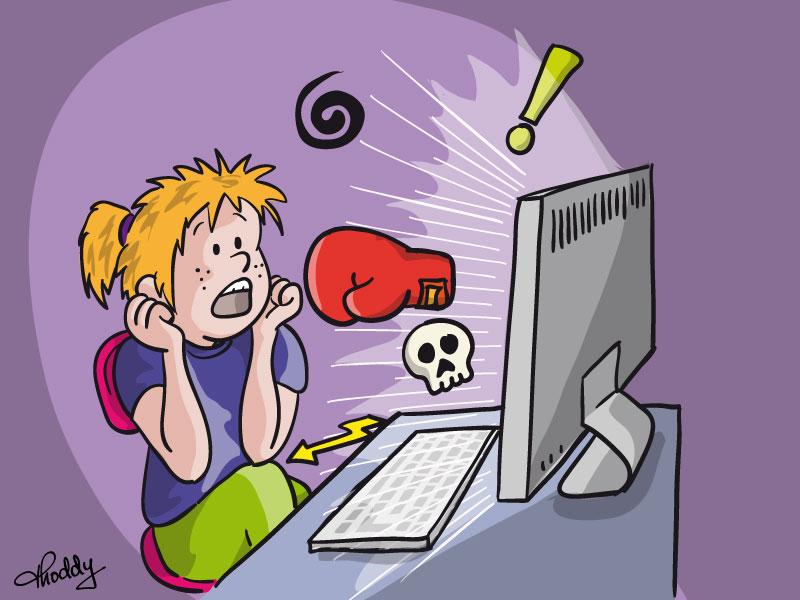 cybermobbing ist gemein und strafbar kinder kinderseiten seitenstark. Black Bedroom Furniture Sets. Home Design Ideas