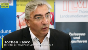 Jochen Fasco, Direktor der Thüringer Landesmedienanstalt
