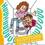 Auditorix - Geräuschaktion:  Raschel … Knister … Kling … Boing!