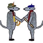 Die Bösen Wölfe - Deutsch-französische Freundschaft