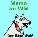 Der Böse Wolf - Fußball-Memo zur WM 2018