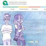 frieden-fragen.de - Neu bei Seitenstark