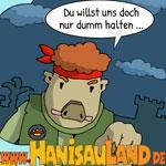 HanisauLand.de - Neuer Comic