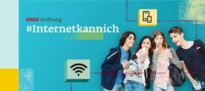 Werbung für Förderwettbewerb #Internetkannich