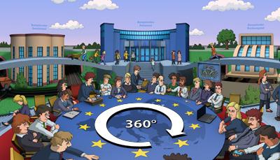 EU-Rundgang von HanisauLand Bild: Stefan Eling/ HanisauLand.de