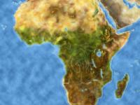 Afrika Karte Scala Z