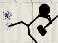 Graffiti zum Mauerfall auf einer Online-Mauer