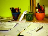 Schreibtisch; Bild: Internet-ABC