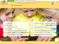 """Startseite des Lernmoduls """"Chatten und Texten – WhatsApp und mehr"""""""