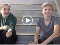 Videoclip mit zwei Jugendlichen