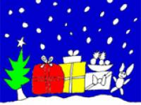 Malbild zu Weihnachten