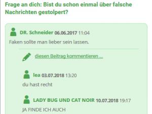 Ein Screenshot der Seite internet-abc.de