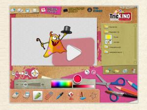 Abbildung der Animationssoftwarte von Trickino