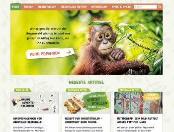 Bildschirmfoto Abenteuer Regenwald