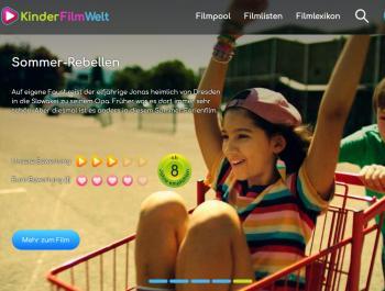 Bildschirmfoto Kinderfilmwelt