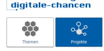 Screen von der WEeseite Stiftung Digitale Chancen