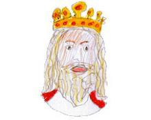 Porträt des Königs Chlodwig