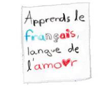 Apprends le français, c'est la langue de l'Amour