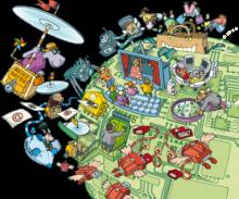 Interaktives Tafelbild: Internettipps