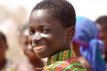 Junge in Burkina Faso