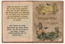 Altes Postkartenalbum
