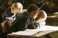 Afrikanischer Unterricht