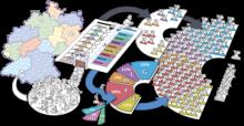 Interaktives Tafelbild: Bundestagswahlen