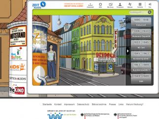 Screenshot von Zeitklicks.de