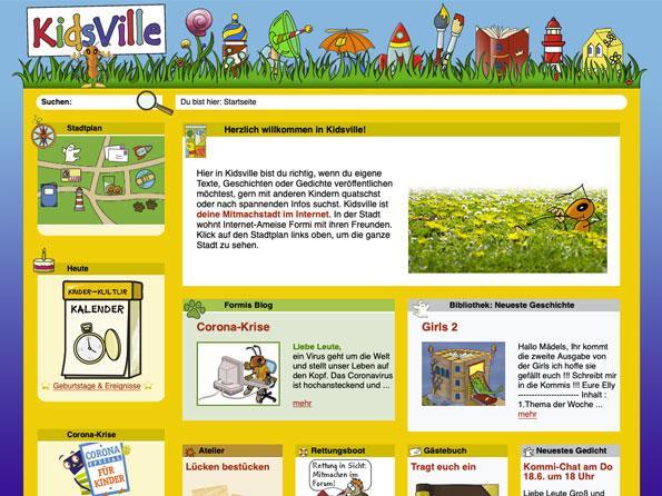 Bildschirmfoto Kidsville