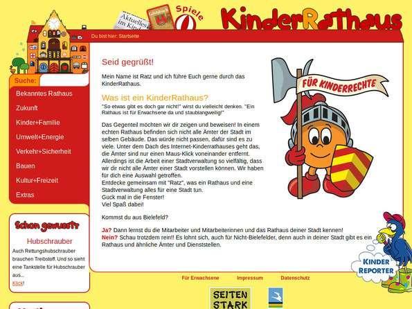 Bildschirmfoto KinderRathaus