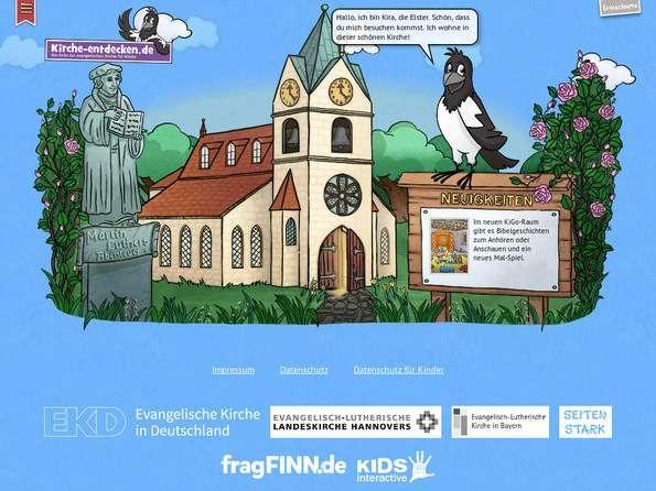 Bildschirmfoto Kirche-entdecken