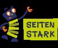 Das Maskottchen mit Logo von Seitenstark