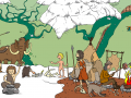 Stadtgeschichtchen - Das Nomadenlager der Altsteinzeit