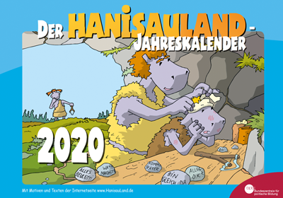 Cover des HanisauLand-Jahreskalenders 2020